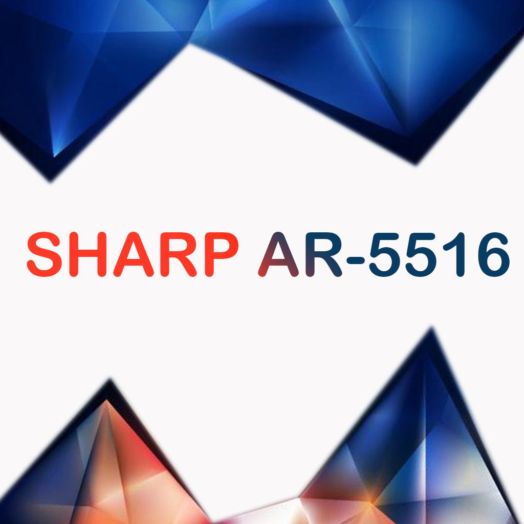 سرویس منوال کپی شارپ SHARP AR-5516