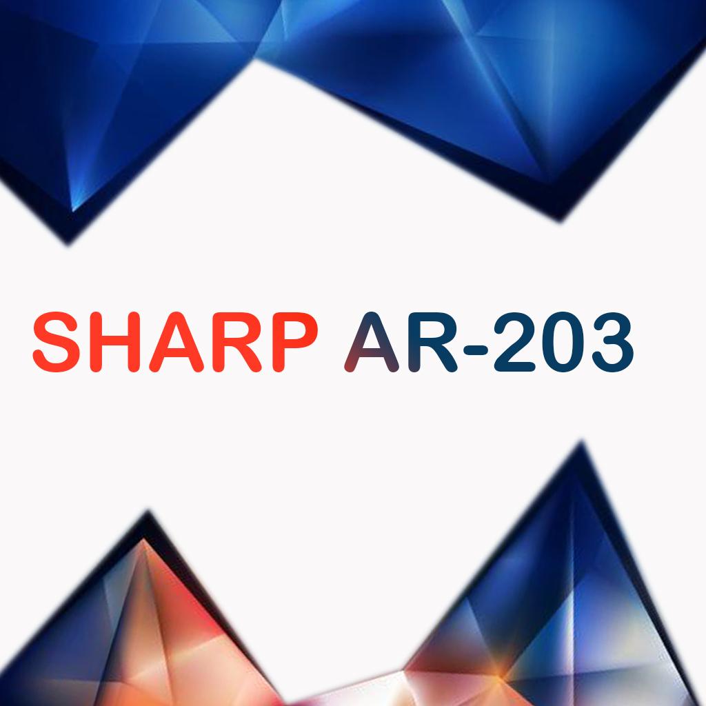 سرویس منوال کپی شارپ SHARP AR-203