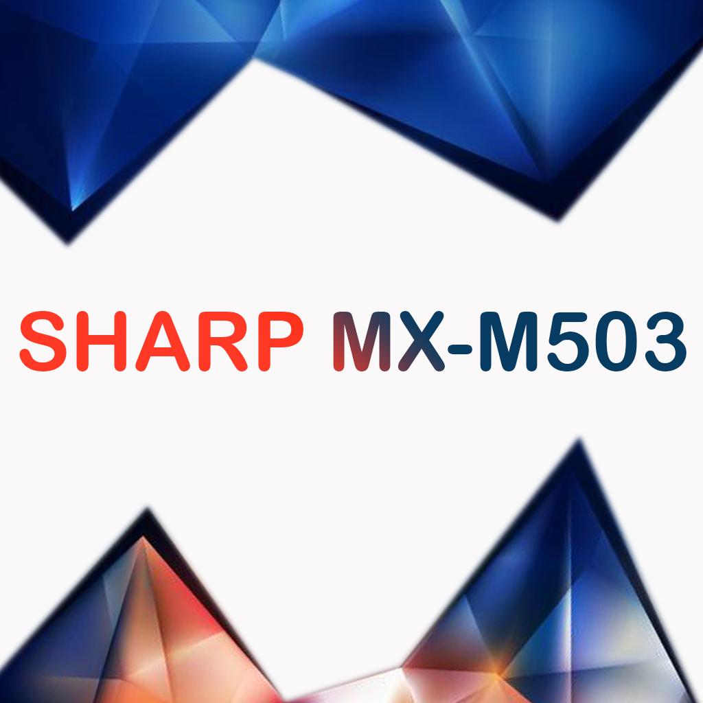 سرویس منوال کپی شارپ SHARP MX-M503